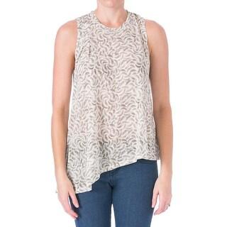 Elizabeth and James Womens Vinnie Modal Asymmetric T-Shirt