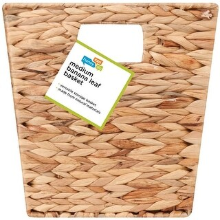 Honey Can Do STO-02886 Banana Leaf Woven Basket, Natural/Brown