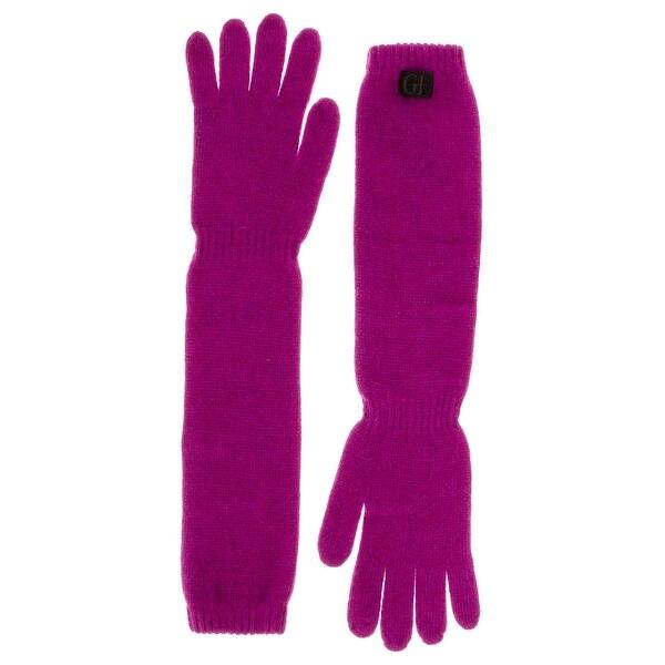 Gianfranco Ferre GUA 01033 Wool Blend Long Gloves