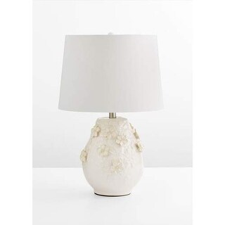 Cyan Design Eire Table Lamp Eire 1 Light Accent Table Lamp with White Shade
