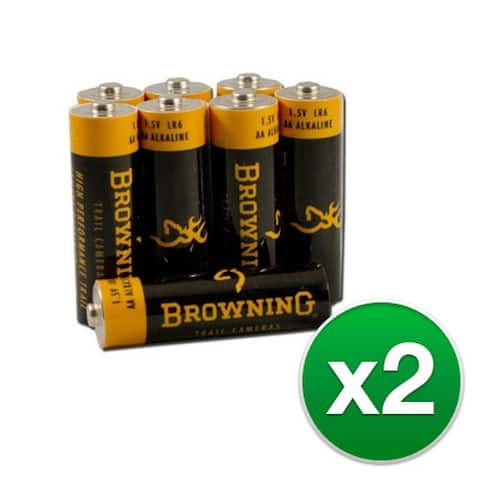 Browning AA Alkaline Batteries (2-Pack) AA batteries