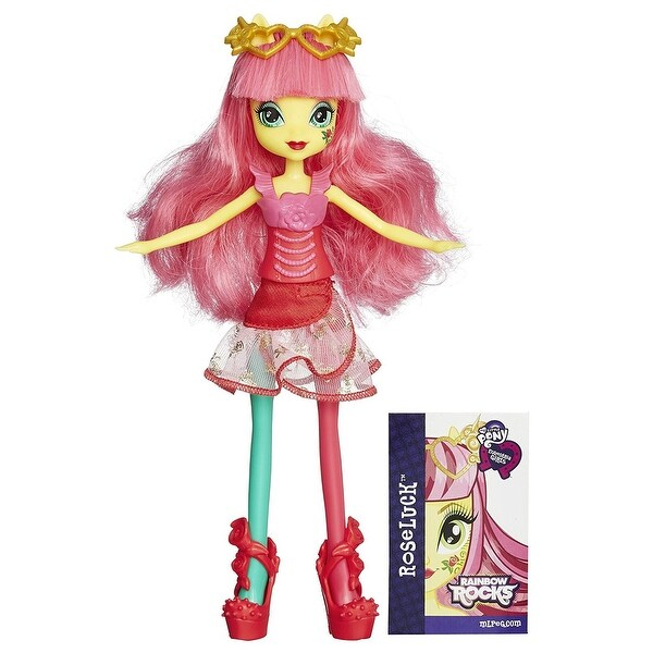 My Little Pony Equestria Girls Rainbow Rocks Roseluck Doll. Opens flyout.