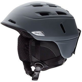 Smith Optics Camber MIPS Ski Helmet (Matte Charcoal/Medium) - Black