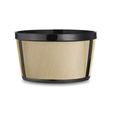 Medelco BF215CB Permanent Gold Tone Basket Filter, Stainless Steel