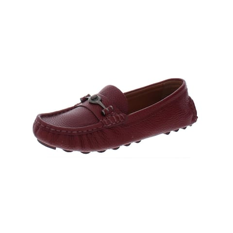 Coach Womens Crosby Loafers Leather Driver
