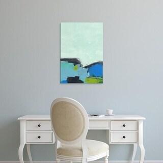 Easy Art Prints Jan Weiss's 'Landscape No 98' Premium Canvas Art