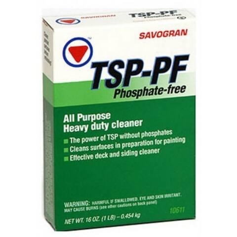 Savogran 10611 TSP-PF Heavy Duty Phosphate Free Cleaner, 1 Lb
