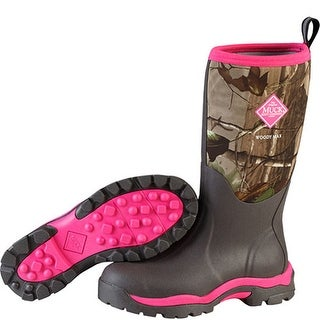Muck Boot's Womens Woody Max Boot Real Tree Xtra - Size 6