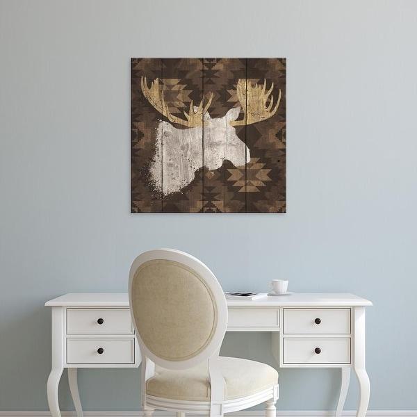 Easy Art Prints Wellington Studio's 'Precious Antlers IV' Premium Canvas Art
