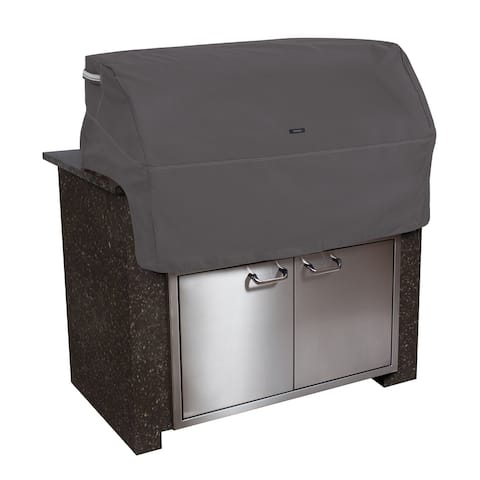 Classic Accessories Ravenna Water-Resistant 32 Inch Built-In BBQ Grill Top Cover