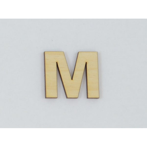 Shop 1 Pc, 10 Inch X 1/8 Inch Thick Wood Letters M In The