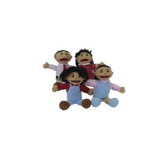 Marvel Education Asian Family Puppets, Set of 4