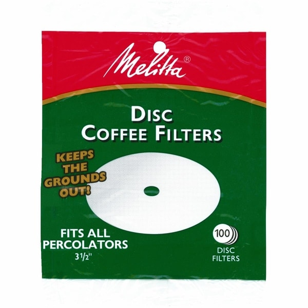 "Melitta 3.5"" Disc Coffee Filter"