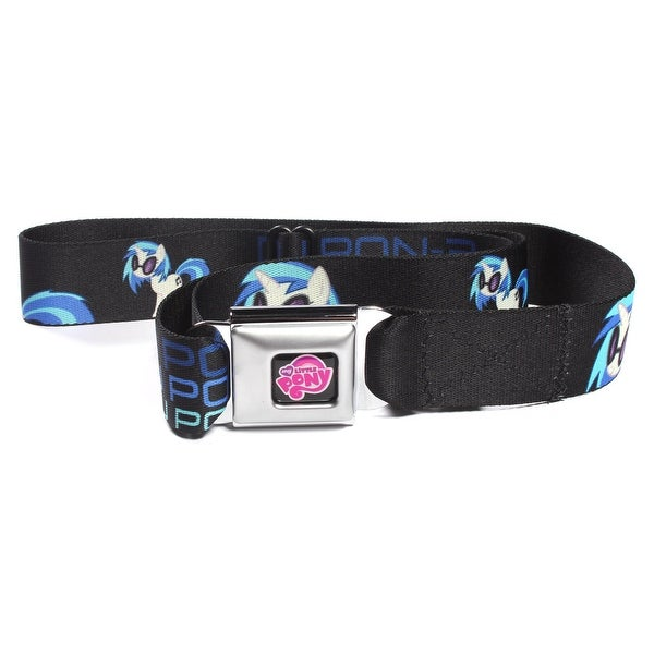 My Little Pony DJ PON-3 Seatbelt Belt-Holds Pants Up - XL
