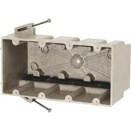 Allied Moulded 4 Gang Fiberglass Box
