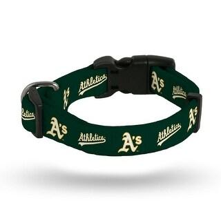 Oakland Athletics Pet Collar Size S