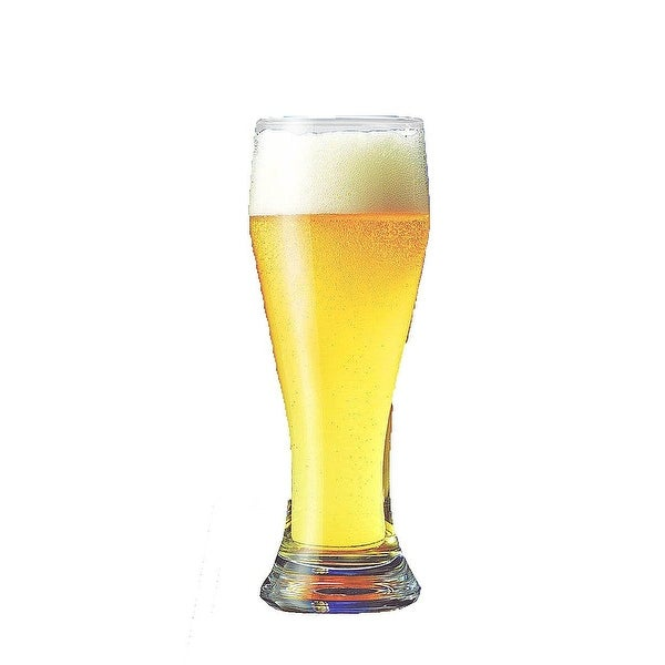 Palais Clear Luxurious Pilsner Glass, Set of Four (4) (19 Oz)