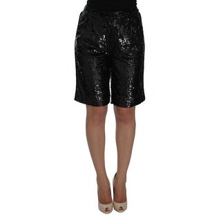 Dolce & Gabbana Sequined Above Knees Shorts