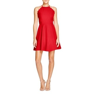 Lucy Paris Womens Party Dress Knit Adjustable Straps