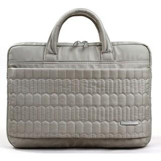 "Kingsons Electra series 13.3"" coffee laptop shoulder bag"
