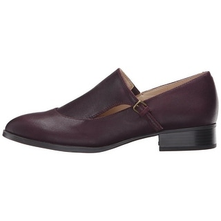 Nine West Womens Nyessa Leather Closed Toe Loafers