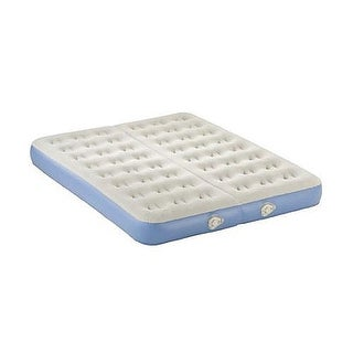 AeroBed 2000009822 Queen Size Dual Comfort Zone Airbed Inflatable Mattress - Blue
