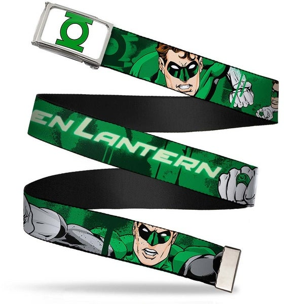Green Lantern Logo Close Up Fcg White Green Chrome Green Lantern Green Web Belt