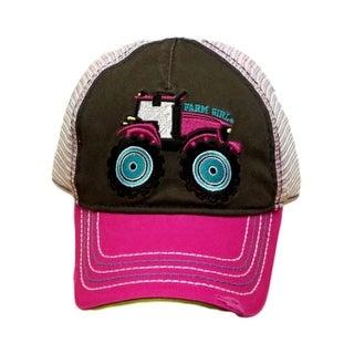 Farm Girl Western Hat Girls Tractors Mesh M/L Medium Pink F83088200