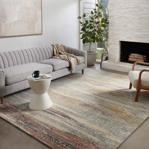 Alexander Home Bradford Modern Abstract Area Rug