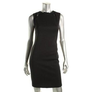 TopShop Womens Cutout Sleeveless Cocktail Dress - 6