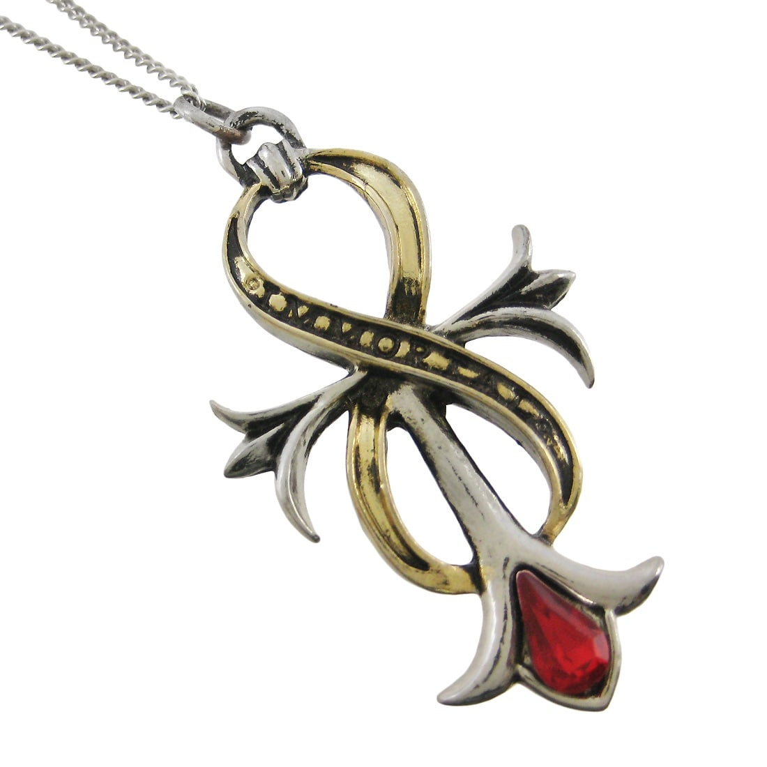 NEW ANKH OF IMMORTAL INFINITY Pendant Necklace by Children of the Night