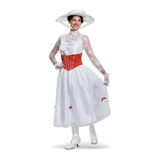 Womens Deluxe Mary Poppins Jolly Holiday Costume