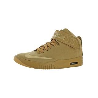 Nike Boys Air Akronite AS Fashion Sneakers Solid High-Top - 6 medium (d) big kid