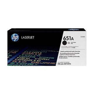 Hewlett Packard 651A Black Contract LaserJet Toner Cartridge(CE340AC)(Single Pack) Black Contract LaserJet Toner Cartridge for