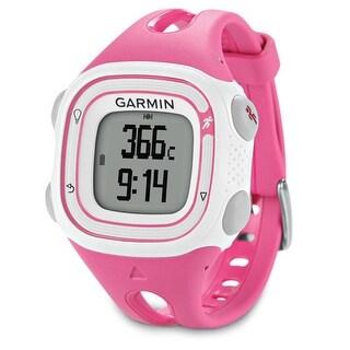 Refurbished Garmin Forerunner 10 Pink & White GPS Running Watch