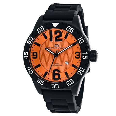 Oceanaut Men's Orange Dial Watch - OC2712