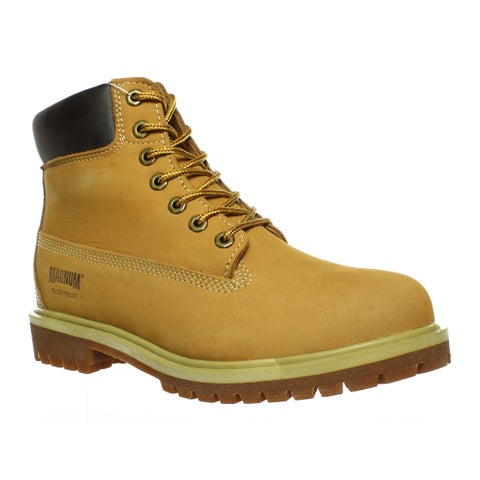 Magnum Mens Foreman Wheat Work & Safety Boots Size 11