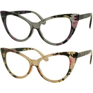 Link to Womens Cat Eye Reading Glasses, 4 Pairs Similar Items in Eyeglasses