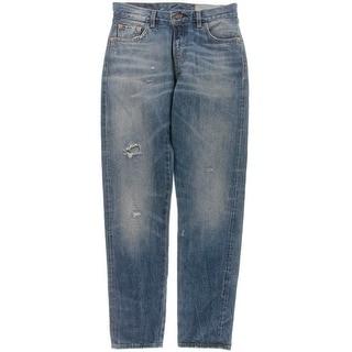 Levi's Womens Peggy 'O Customized Selvedge Edge Classic Jeans