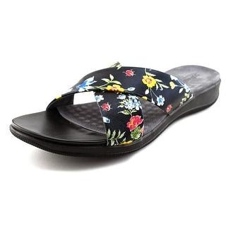 Softwalk Tillman  W Open Toe Leather  Slides Sandal