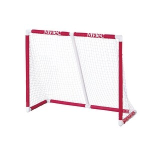 Mylec 72 x 48 x 33 in Heavy-Duty Replacement Net for Floor Hockey Goal, White