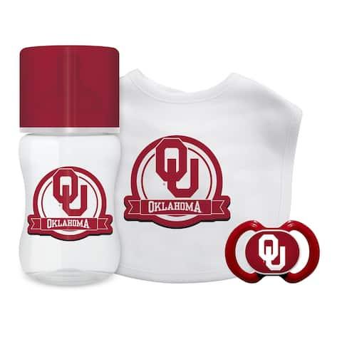 Oklahoma Sooners Baby Gift Set 3 Piece