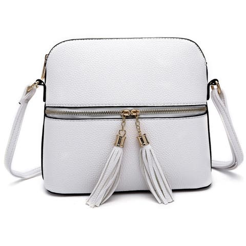 Style Strategy Crossbody Bag Phone pocket with Tassel zipper pull
