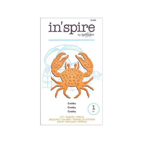 In-040 spellbinders die inspire crabby