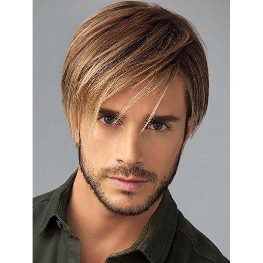Chiseled Wig by Him/Hairuwear - MEN'S WIG - HF Synthetic, Lace Front, Mono Top