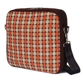 O Yikes! Retro Messenger Bag, Apricot