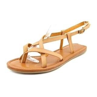 Mia Cruise Open Toe Synthetic Gladiator Sandal