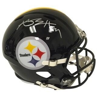 Antonio Brown Signed Pittsburgh Steelers Full Size Speed Replica Helmet JSA