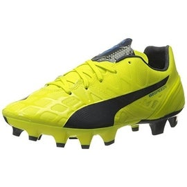 Puma Womens Evospeed Colorblock Lace-Up Soccer Shoes - 7.5