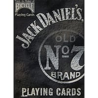 Jack Daniels Playing Cards, Card Games by U.S. Playing Cards